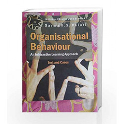Organisational Behaviour (With CD) by Sarma V.S. Veluri Book-9788179929964