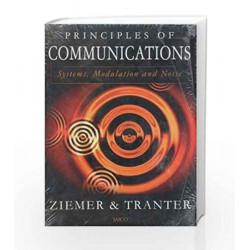 Principles of Communications by Zeimer Book-9788172245320