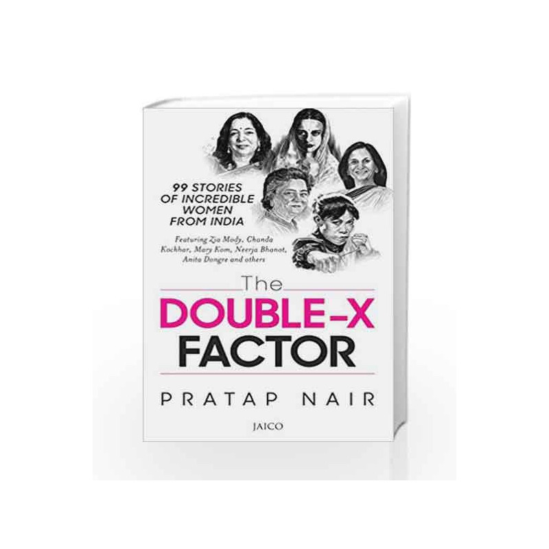 The Double X Factor by Pratap Nair Book-9788184959932