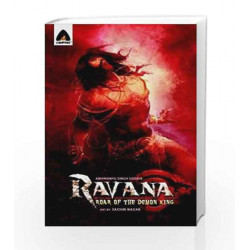 Ravana: Roar of the Demon King - A Graphic Novel (Campfire Graphic Novels) by Abhimanyu Singh Sisodia Book-9789380741178