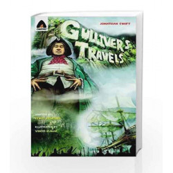 Gulliver's Travels: The Graphic Novel (Campfire Graphic Novels) by Jonathan Swift Book-9789380028507