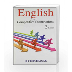 English for Competitive Examinations by Rajat Gera Book-9780230638075