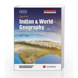 Indian & World Geography for Civil Services (Preliminary) Examinations by Jigeesha's Book-9789350359280