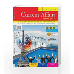 Current Affairs Made Easy 2016 by Made Easy Publications Book-9789351471325
