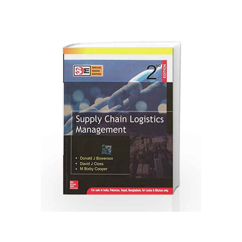 Supply Chain Logistics Management Sie By Donald Bowersox Buy