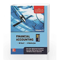 Financial Accounting - Vol. 2 by M Hanif Book-9780071333474