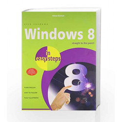 Windows 8 by IN EASY STEPS Book-9789351343042
