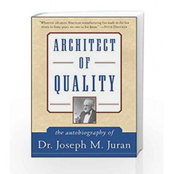 Architect of Quality by JURAN Book-9780070587663