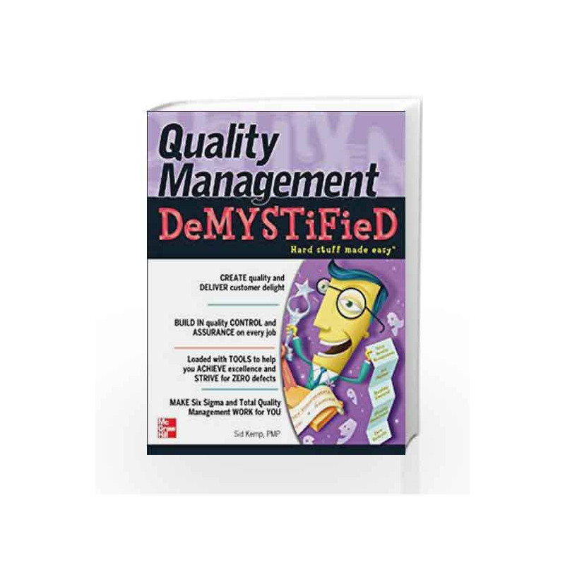 Quality Management Demystified by KEMP Book-9780070634947