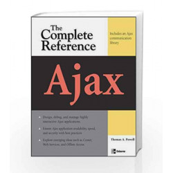 Ajax: The Complete Reference by Thomas Powell Book-9780070248496