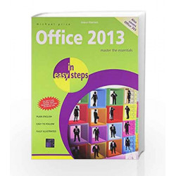 Office 2013 by In Easy Steps Book-9789351344773