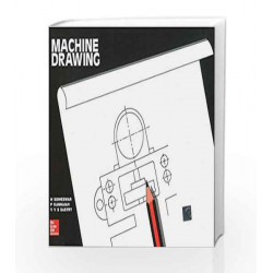 Machine Drawing by N Sidheswar Book-9780074603376