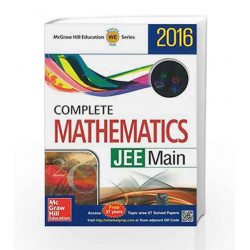 Complete Mathematics: JEE Main - 2016 (Old Edition) by McGraw Hill Education Book-9789339220334
