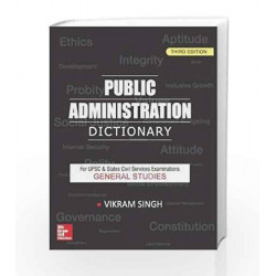 Public Administration Dictionary by SINGH Book-9781259003820