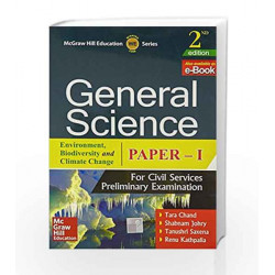 General Science Paper I by Chand Book-9789351343530