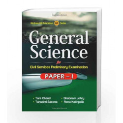 General Science for Paper 1 by Tarachand And J Book-9781259001215