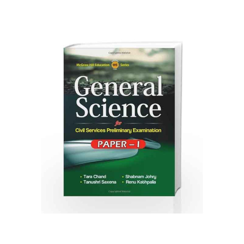 General Science for Paper 1 by Tarachand And J-Buy Online General Science  for Paper 1 Book at Best Price in India:Madrasshoppe com