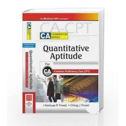 Quantitative Aptitude: for CA Common Proficiency Test CPT by Kashyap Trivedi Book-9780070263598