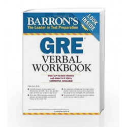 Barrons GRE Verbal Workbook by Philip Geer Book-9788122435764