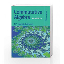 Commutative Algebra by Gopalakrishnan N.S. Book-9788173719783