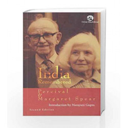 India Remembered by Margaret Spear Perceival Book-9788125039600