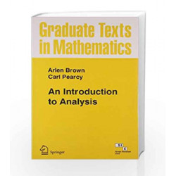 An Introduction to Analysis by Brown Book-9788184896206