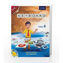 Keyboard Coursebook 8: Windows 7 and MS Office 2007 (With MS Office 2010 Updates) by Sangeeta Panchal Book-9780198081531