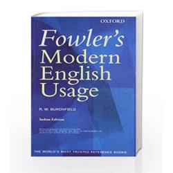 Fowler's Modern English Usage by BURCHFIELD Book-9780195676990