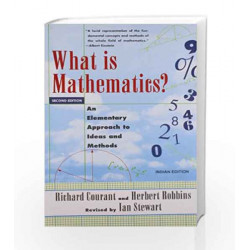 What is Mathematics? by Ian Stewart, Herbert Robbins Richard Courant Book-9780195687101