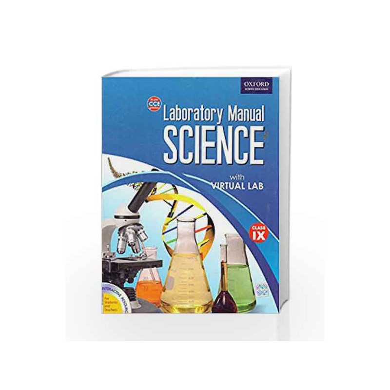 Laboratory Manual Science with Virtual Lab 9: Class 9 by Cyber School  Technology Solutions (P) Ltd-Buy Online Laboratory Manual Science with  Virtual