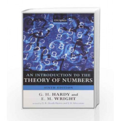 An Introduction to the Theory of Numbers by G. H. Hardy Book-9780199219865