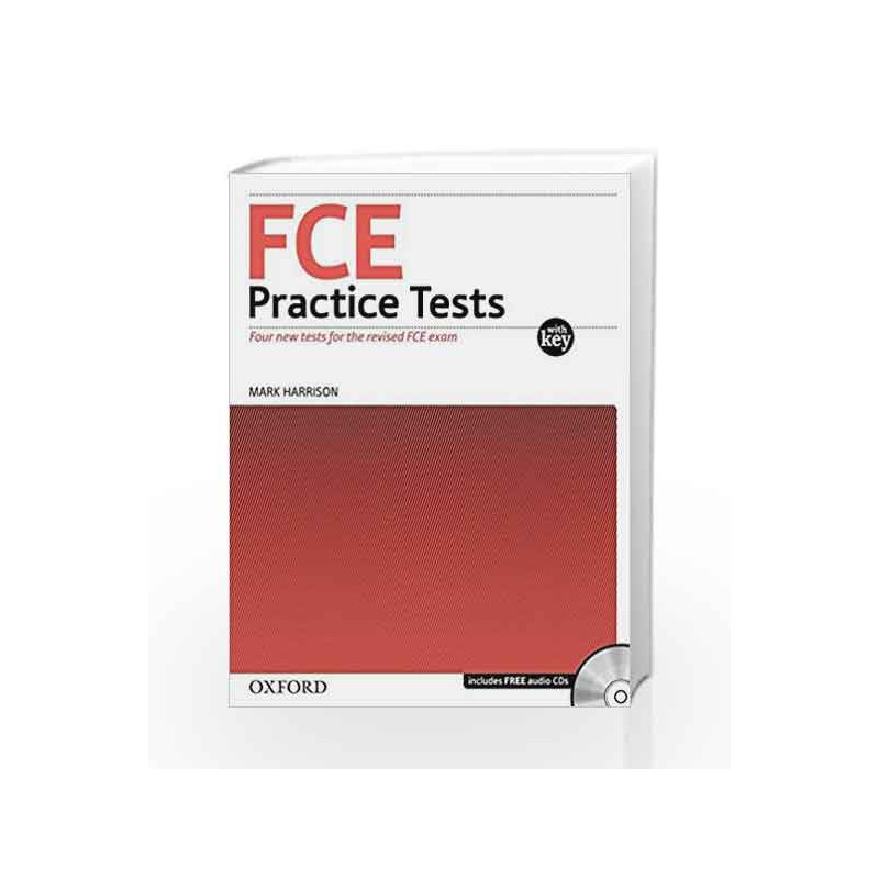 Fce Practice Tests: Practice Tests (With Key) and Audio CDs Pack by Mark  Harrison-Buy Online Fce Practice Tests: Practice Tests (With Key) and Audio