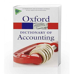 A Dictionary of Accounting (Oxford Quick Reference) by Jonathan Law Book-9780198743514
