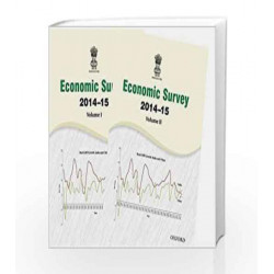 Economic Survey 2014-15 (Set of Volume1 and 2) by Ministry Of Finance Book-9780199460182