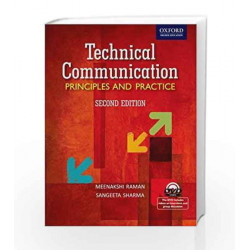 Technical Communication: Principles and Practice by RAMAN Book-9780198065296