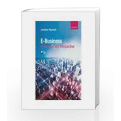 E-Business: A Management Perspective by Reynolds Book-9780199599202