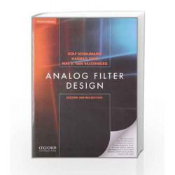 Analog Filter Design, Indian by Schaumann Book-9780198098911