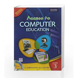 Access to Computer Education Coursebook 3 by N. Subramanian Book-9780198066149