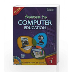 Access to Computer Education Coursebook 4 by N. Subramanian Book-9780198066156