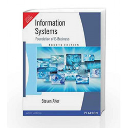 Information Systems by Steven Alter Book-9788177587784