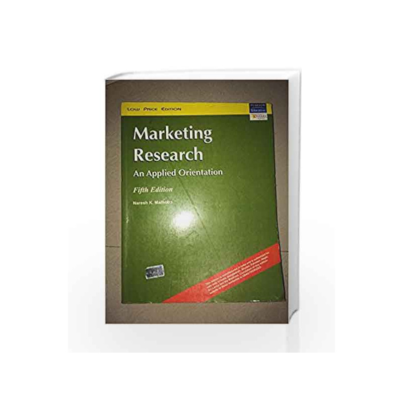 Marketing Research by Burns Book-9788131709375