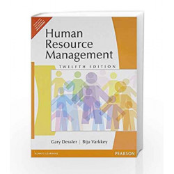 Human Resource Management 12 Edition (Old Edition) by Gary Dessler Book-9788131754269