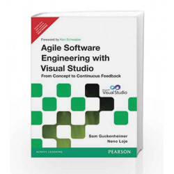 Agile Software Engineering with Visual Studio: From Concept to Continuous Feedback, 2e by Guckenheimer Book-9788131786871