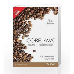 Core Java, Volume I: Fundamentals, 9e by Horstmann Book-9789332518902