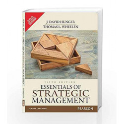 Essentials of Strategic Management by J. David Hunger Book-9789332550094