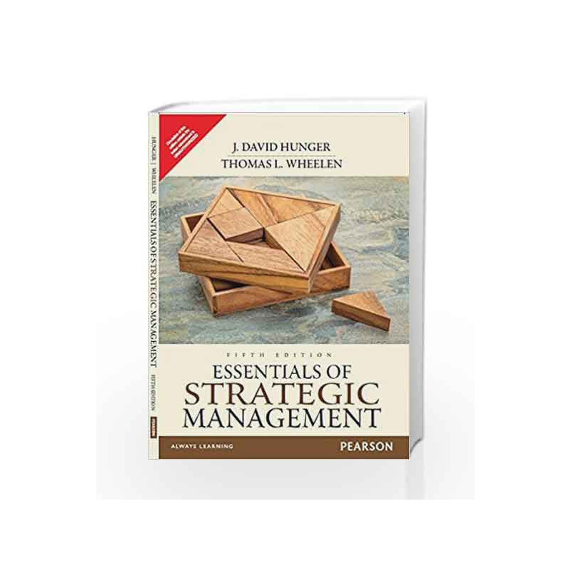 Essentials of Strategic Management by J. David Hunger Book-9789332550094