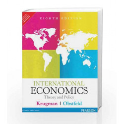 International Economics: Theory and Policy, 8e by Krugman Book-9789332518230