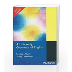 A University Grammar of English, 1e by QUIRK Book-9788177587500