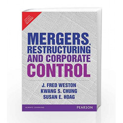 Mergers Resturcturing and Coporate Contr by Weston Book-9789332555259