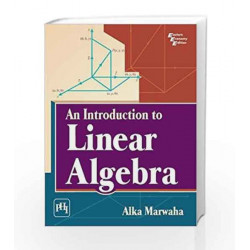An Introduction to Linear Algebra by Alka M Book-9788120349520